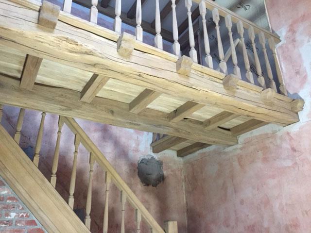Trap & plafond
